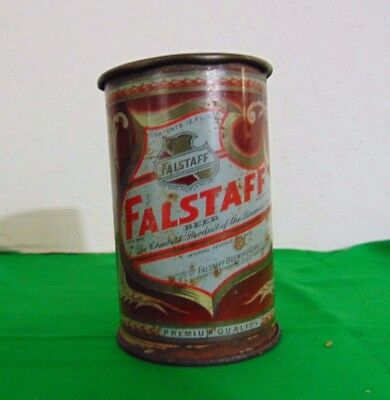 Vintage Falstaff Cone Top Beer Can Made Into A Mug #1