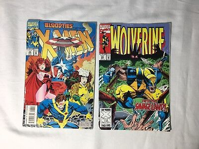 Marvel Comics Group Lot of 2 From 1993 (Issues: 69 MAY  and 26 NOV)