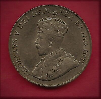 1922 Canada 5 Cent - EXCELLENT - Free Shipping
