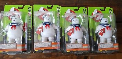 "Lot of 4 Ghostbusters Stay Puft Balloon Ghost Light-up 6"" Action Figure NIP 2016"