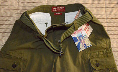 Nautical Classic Fit Flex Shorts Men's Size 30W With Belt! Top Quality & Looks!