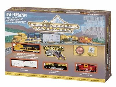 Bachmann Bac24013 Set,thunder Valley,w/n/s Ezt