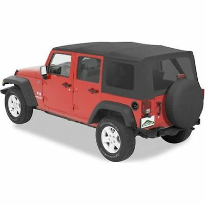 Pavement Ends 51201-35 Replay Tinted Window SoftTop For 07-09 Wrangler Unlimited
