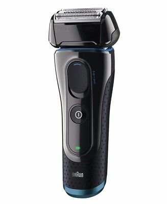 New Braun Series 5 Wet/Dry Electric Shaver Black With Flex Motion Tec 5040 Wd