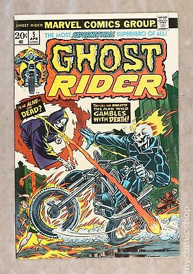 Ghost Rider (1st Series) #5 1974 FN/VF 7.0