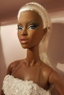 Frosted Glamour Adele Makeda Fashion Fairytale Fashion Royalty Centerpiece Doll