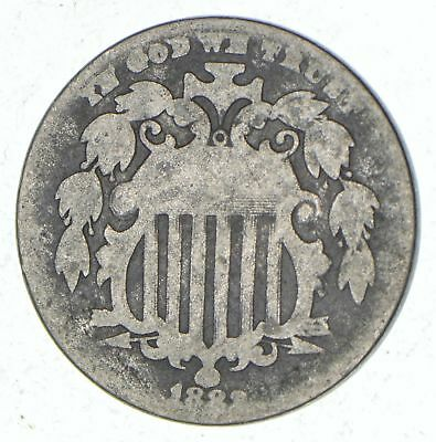 First US Nickel - 1883 - Shield Nickel - US Type Coin - Over 100 Years Old! *771