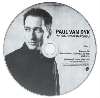 Paul Van Dyk The Politics Of Dancing 2 2 CD album (Double CD) USA promo
