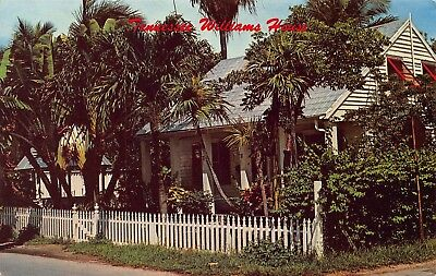 FL 1960's Florida Tennessee Williams Home at Old KEY WEST FLA - Monroe County