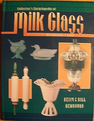 VINTAGE MILK GLASS PRICE VALUE GUIDE COLLECTOR'S BOOK White Blue Pink