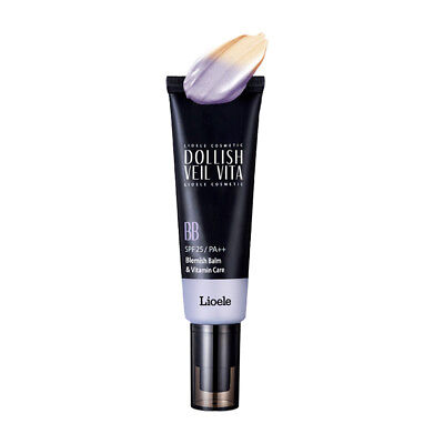 EXP 2019.11 / Lioele Dollish Veil Vita BB SPF25 PA++ 50ml  Gorgeous Purple