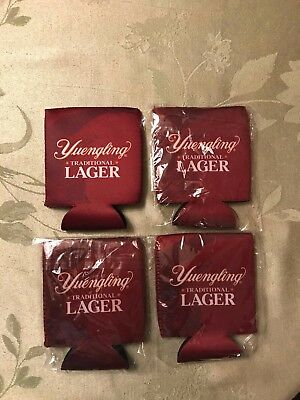 4 Yuengling Lager Beer Can Koozies New!!!