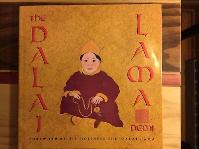 THE DALAI LAMA by Demi (1998, Hardcover, Revised) LIKE NEW free ship