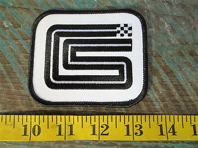 Vintage Style Shelby Cs Logo Racing Patch Ford Mustang Cobra Carroll Shelby Gt0