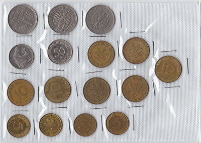GERMANY - BULK mix  of coins - will suit Collector or Traveller - nice selection