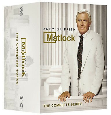 Matlock The Complete Series DVD Box Set Andy Griffith Seasons 1 2 3 4 5 6 7 8 9
