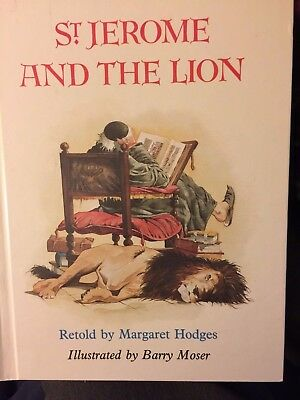 ST. JEROME AND THE LION (1991, Hardcover) Margaret Hodges LIKE NEW rare and OOP