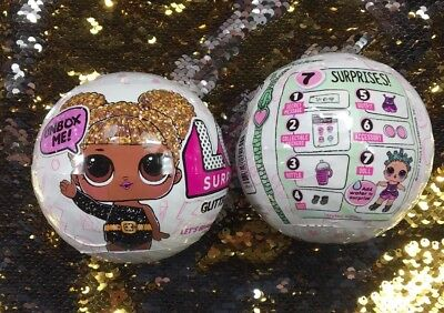 Rare LOL Surprise Glitter Series 3 Doll BIG SISTER Authentic NEW Sealed LOT of 2