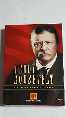 TEDDY ROOSEVELT! - An American Lion, History Channel DVD Set pre-owned