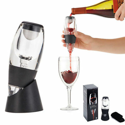 Luxury Gift Box Magic Decanter RED Wine Aerator include Sediment Filter AUS