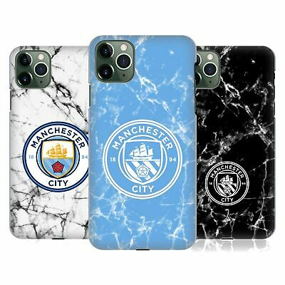 OFFICIAL MANCHESTER CITY MAN CITY FC MARBLE BADGE CASE FOR APPLE iPHONE PHONES