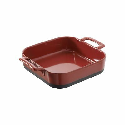 Revol Eclipse Deep Square Baking Dish - 2.4L Red Free Shipping!