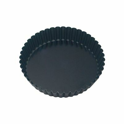 Guery Cake Pan-Round Fluted 280x50mm Loose Base Non-Stick Free Shipping!
