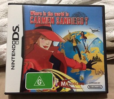Where In The World Is Carmen Sandiego DS
