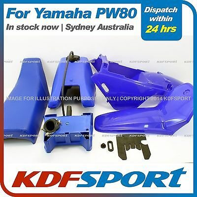 Kdf Pw80 Py80 Plastic Cover Blue Tank Fender For Yamaha Pw Py 80 Seat Air Box