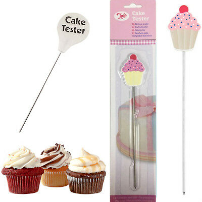 NEW Stainless Cupcake Tester Probe Skewer Cake Baking Cooking Bread Tools FI