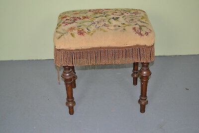 Victorian Wadman brothers piano stool