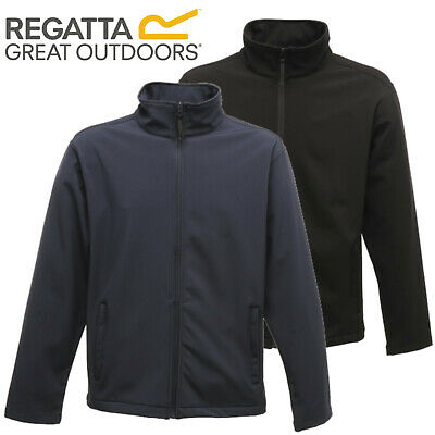 Regatta Mens Soft Shell Windproof Water Repellent Jacket Coat