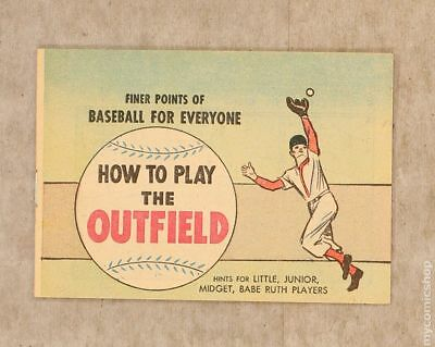 Finer Points of Baseball For Everyone: How to Play The Outfield 1964 VF/NM 9.0