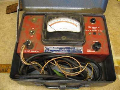 Vintage Sun Electric Corp TRT12 Transistor Regulator Tester Test Equipment