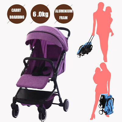 Baby Stroller Infant Pram Compact Lightweight Carry-on Travel System Foldable