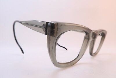 Vintage 50s WELSH MFG eyeglasses frames coil sides 48-22 7 BRL made in USA