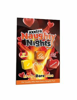 Naughty Nights Raunchy Dare Dice Adult Fun Couples Sexy Fun UK