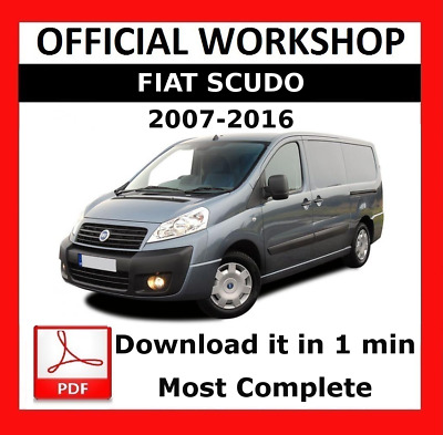 >> OFFICIAL WORKSHOP Manual Service Repair Fiat Scudo 2007 - 2016