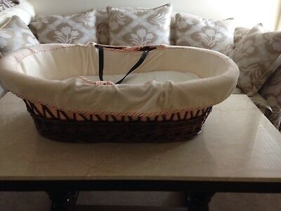 Babecare Moses Basket,Baby Bassinet With Mattress Pad