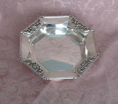 Antique Art Nouveau  Sterling  Silver  Candy Dish Howard Sterling Co. 1891-1901
