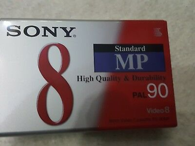 Sony - 8MM-Camcorder Kassette, Video8-Format - Metal Particle, 90 Minuten