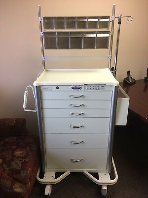 Armstrong Dental Medical Mobile Cart 6 Drawers W/ Wheels