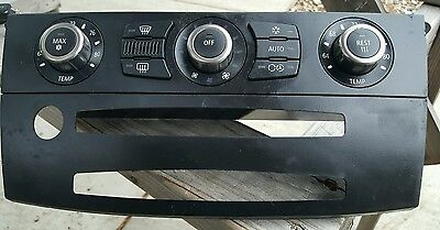 BMW 04-10 E60 A/C Heat Climate Control Switch Unit Switches Air