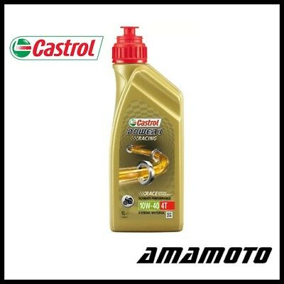 Olio Castrol 1Lt Power 1 Racing 4T 10W-40 100% Sint.