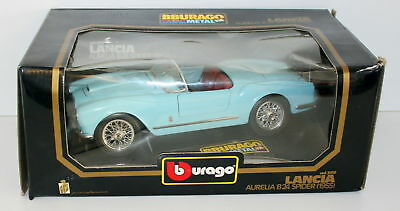 Burago 1/18 3010 Lancia Aurelia B24 Spider 1955 Light Blue