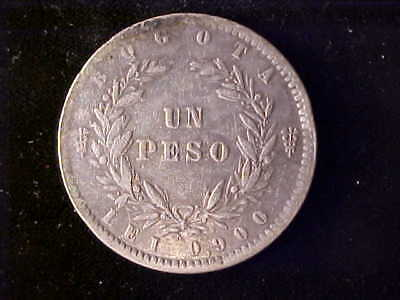 Colombia One Peso 1857