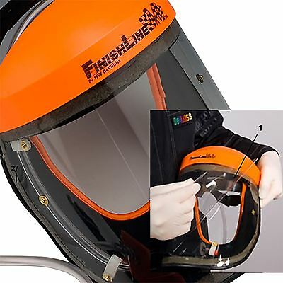 Devilbiss Finishline VIZI Air Fed Tear off Protective Face Visor Mask Cover x 50