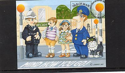 Ms 620 Isle Of Man Postman Pat Very Fine Used Mini Sheet