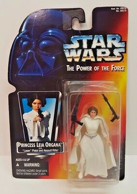 Star Wars The Power of the Force Princess Leia Organa 1995 NEW in Package