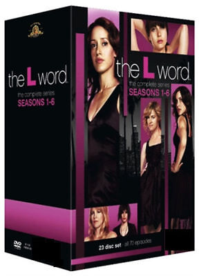 The L Word - Complete Season 1 2 3 4 5 & 6 Series Box Set Collection DVD - NEW